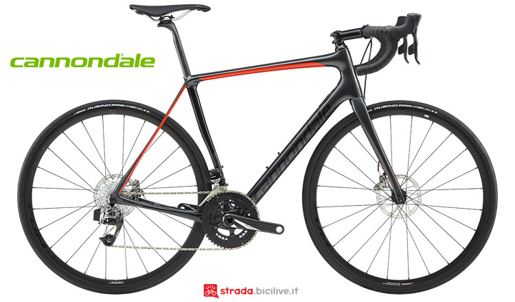 Cannondale Synapse Carbon Disc 2019 con SRAM Red eTap