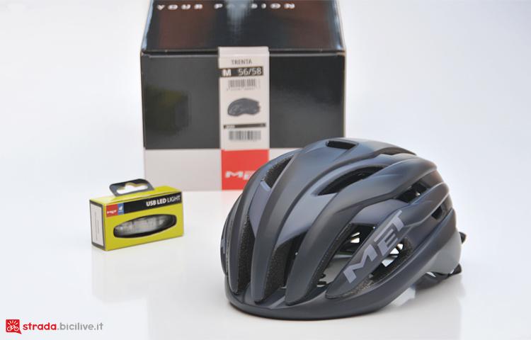 test casco da strada MET Trenta