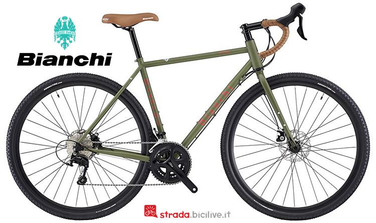 bici per il bikepacking Bianchi Orso 2019