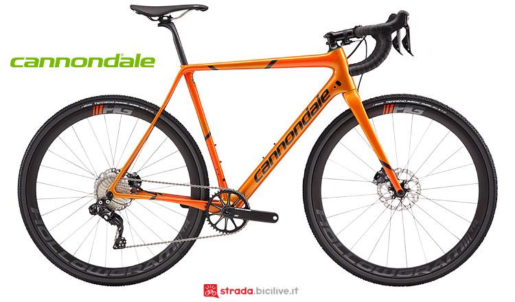 bici da ciclocross con cambio elettronico Cannondale SuperX