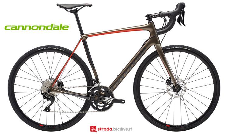 bici da endurance Cannondale Synapse Carbon Disc 2019