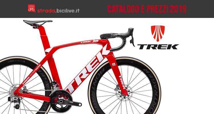 Trek Bici Da Corsa Gravel 2019 Catalogo E Listino Prezzi