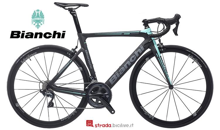 bdc racing con freni tradizionalei Bianchi Aria 2019