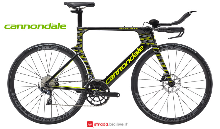 bici da cronometro e triathlon Cannondale Superslice 2019
