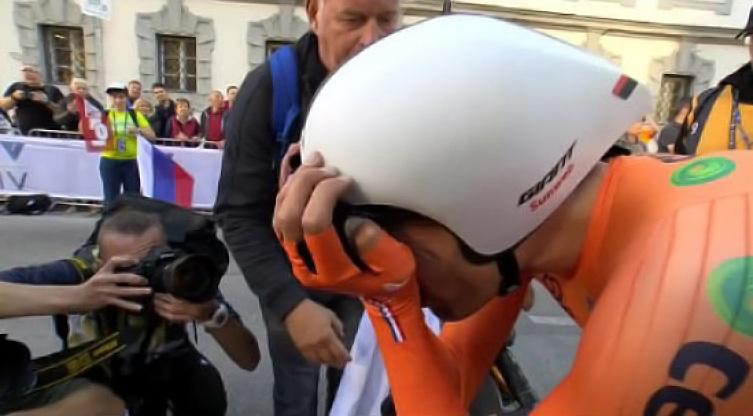 delusione di Dumoulin ai Mondiali di ciclismo