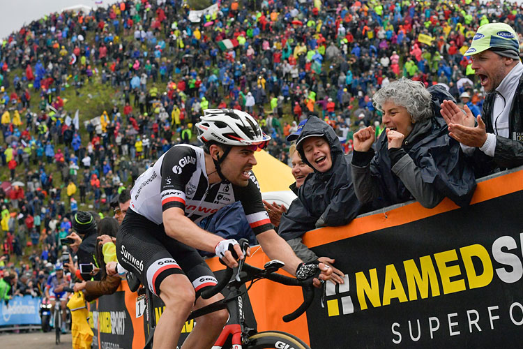 Dumoulin protagonista al Giro d'Italia