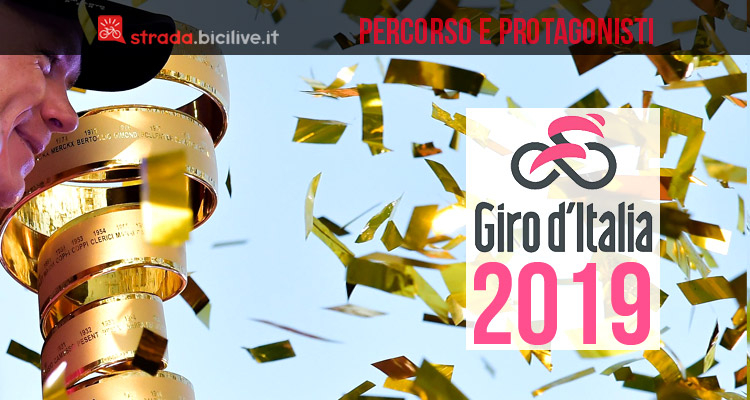 trofeo del Giro d'Italia 2019