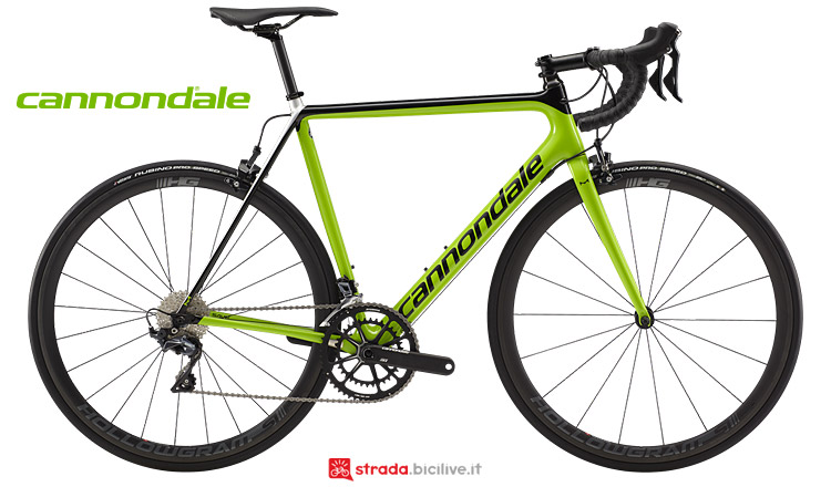 Cannondale SuperSix Evo Hi Mod 2019 in carbonio
