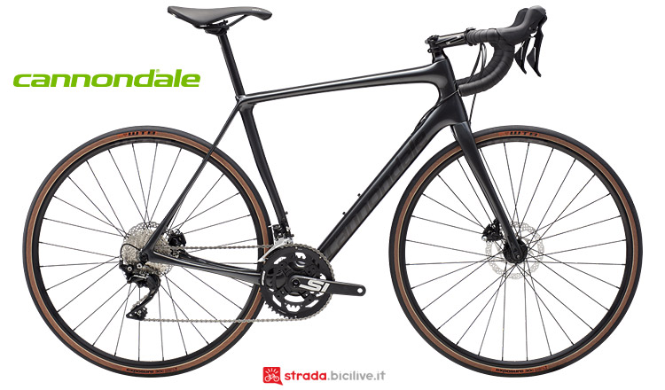 Cannondale Synapse Carbon 2019 con freni a disco