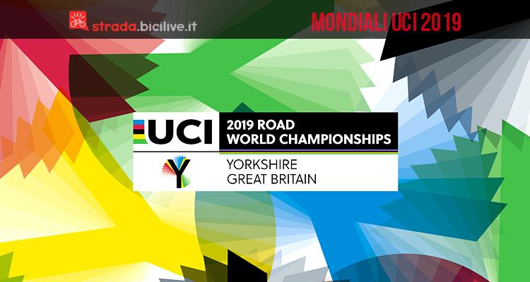 logo dei mondiali di ciclismo 2019 in Yorkshire