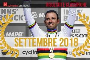 Valverde con la maglia di campione del mondo 2018