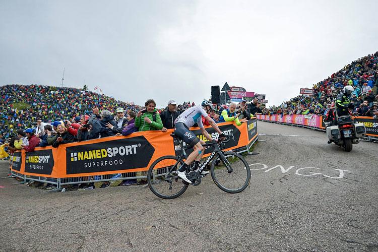 grandi salite del Giro d'Italia