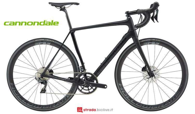 bici top da granfondo Cannondale Synapse HiMod Carbon 2019