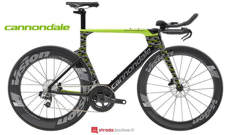Cannondale Superslice 2019 da triathlon e timetrial