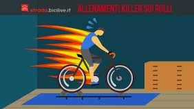 Allenamento killer sui rulli