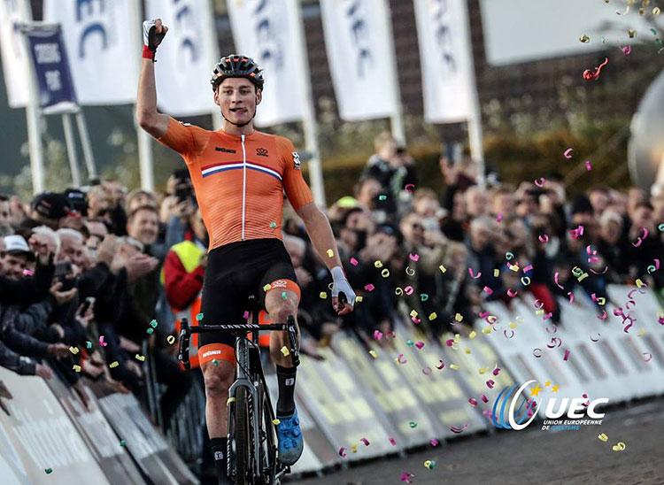 Mathieu Van der Poel campione europeo di ciclocross