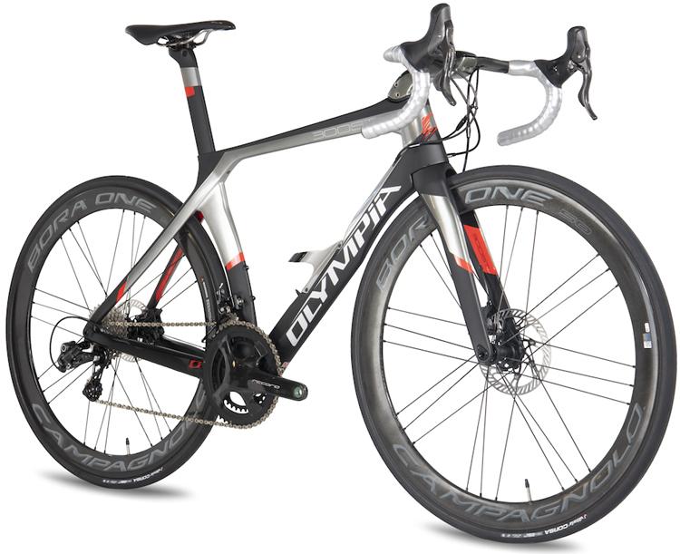 La bici da corsa in carbonio Olympia Boost Disc 125 edizione speciale