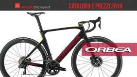 Biciclette da strada e triathlon Orbea: catalogo e listino prezzi 2019
