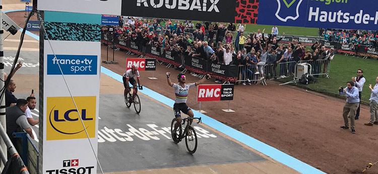 La Parigi-Roubaix di Sagan nel 2018