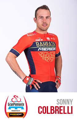 Sonny Colbrelli del team Bahrain Merida