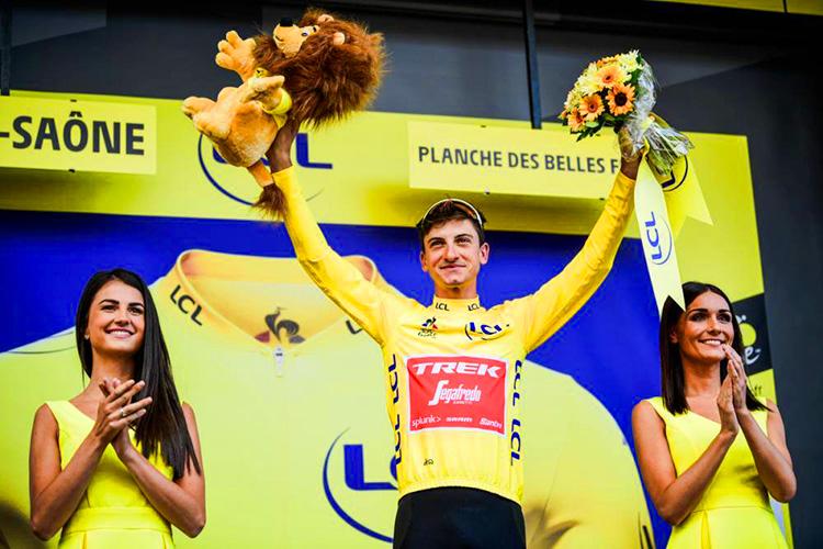 sesta tappa vittoria di Giulio Ciccone maglia gialla