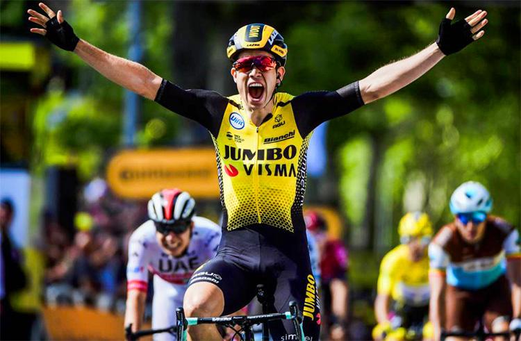 decima tappa vittoria di Wout Van Aert