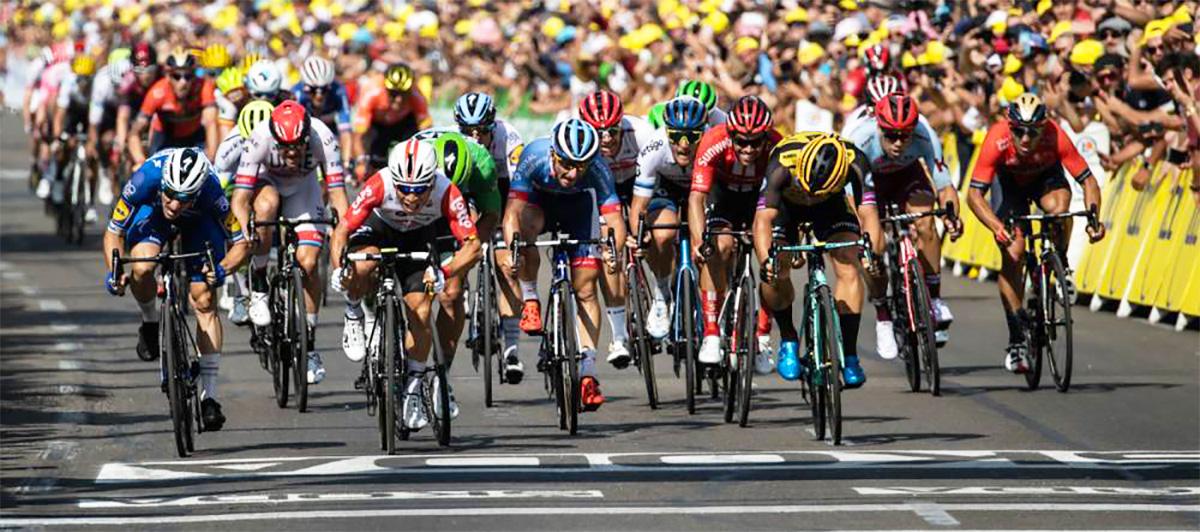 sedicesima tappa vittoria di Caleb Ewan tour de france 2019