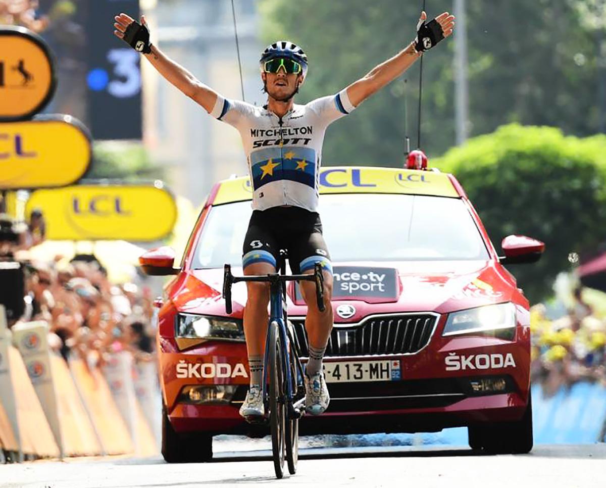 diciassettesima tappa vittoria di Matteo Trentin tour de france 2019