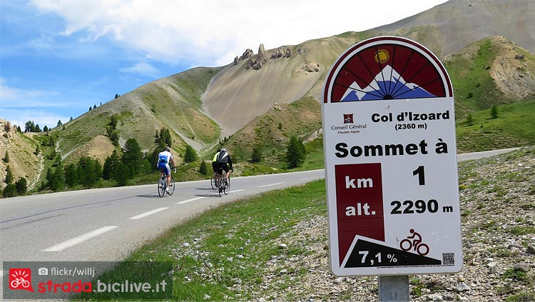 Col d'Izoard da scalare al Tour de France 2019