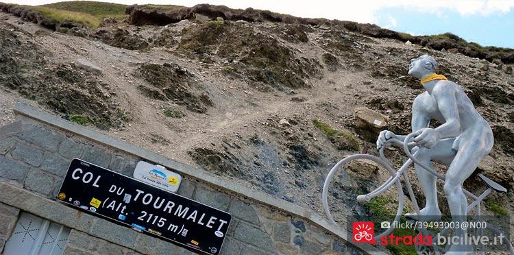 col du Tourmalet nei Pirenei