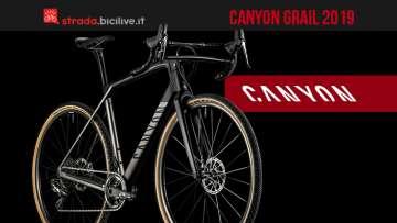 Canyon Grail 2019 la gamma gravel per la nuova stagione