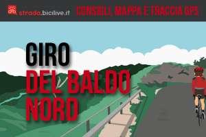 Giro del Baldo nord: mappe e consigli su come affrontarlo