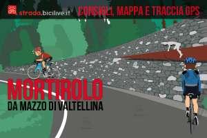 ciclisti al monumento Pantani sul Mortirolo