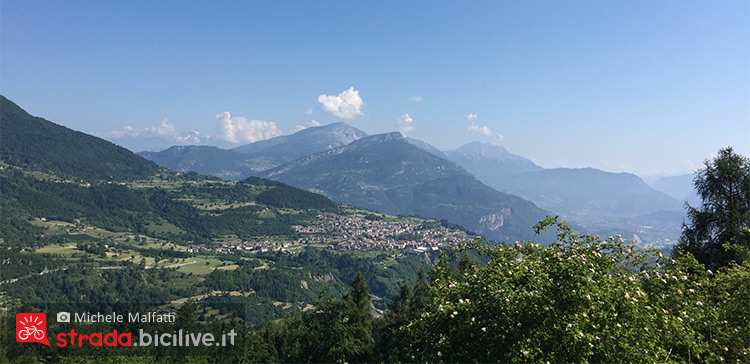 Panorama del Giro del Baldo