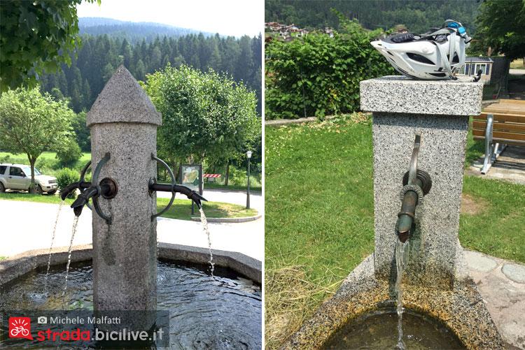 fontane di acqua freschissima in Valrendena