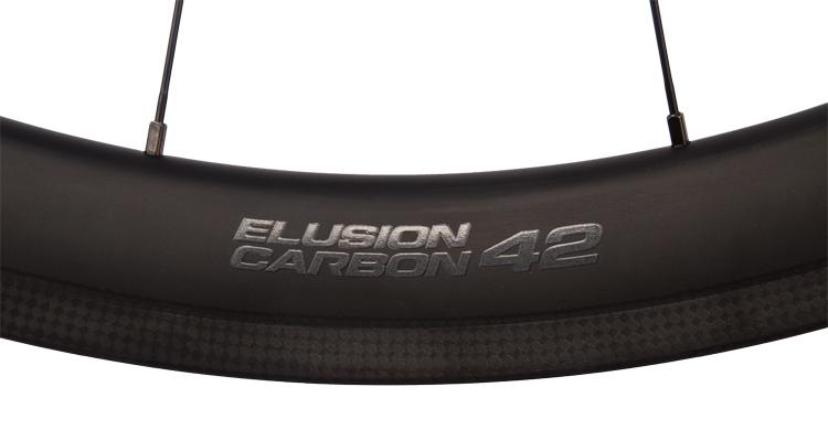 cerchio Vittoria Elusion Carbon con profilo da 42 mm