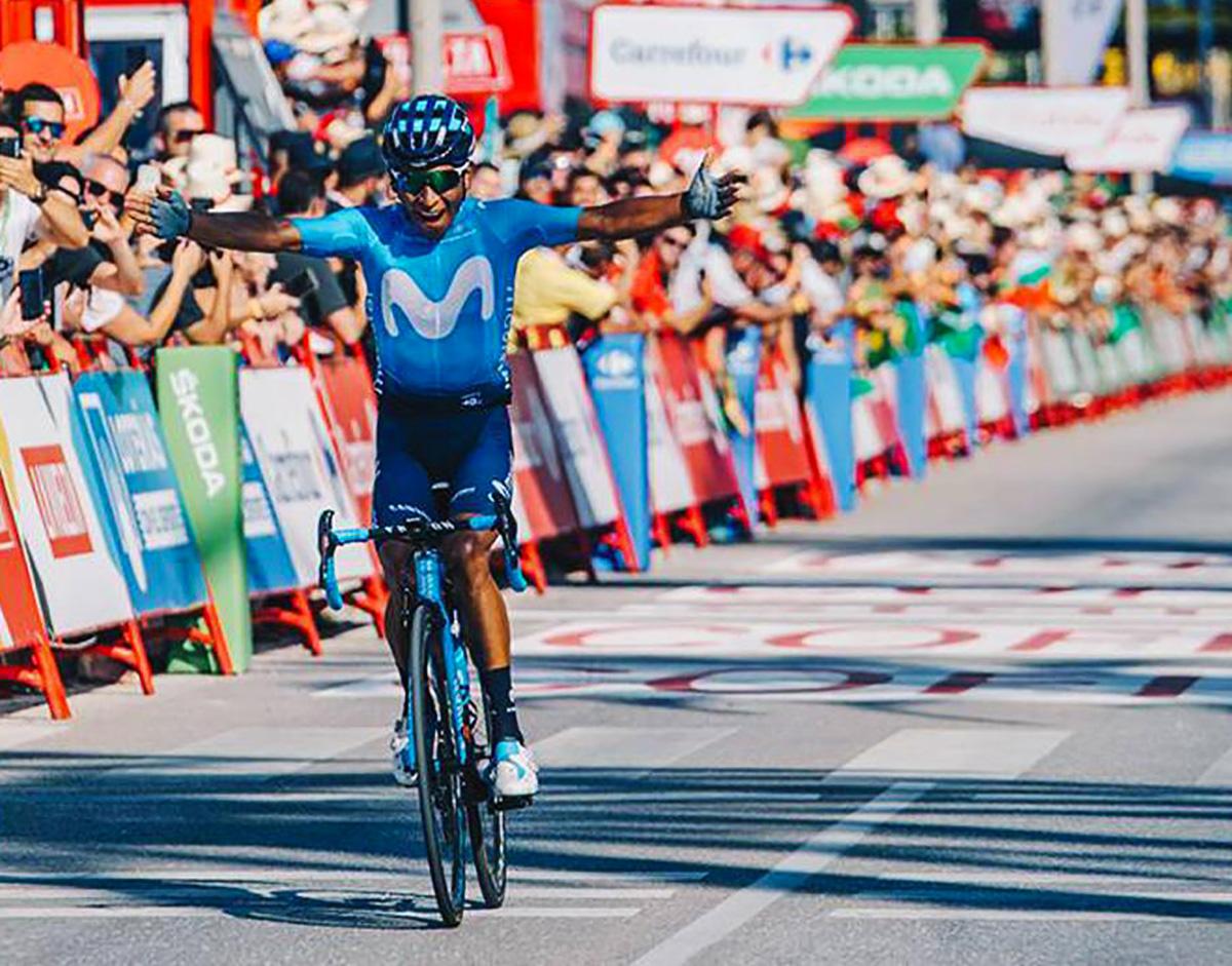 Nairo Quintana vince la tappa 2 della Vuelta 2019