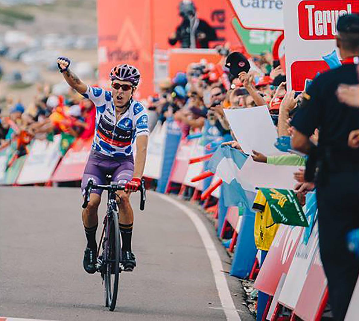 Angel Madrazo vince la tappa 5 della Vuelta 2019
