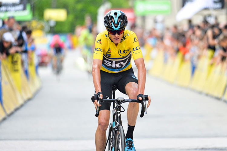 Chris Froome per Team Sky 2019