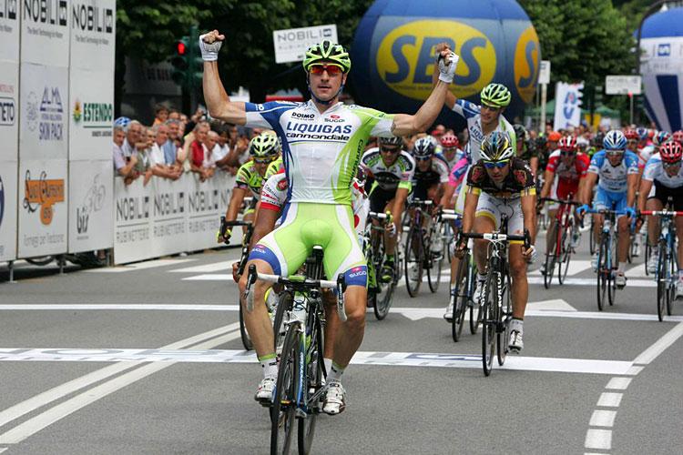una delle prime vittorie di Viviani con la Liquigas