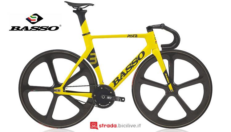 bici da velodromo Basso Pista 2019