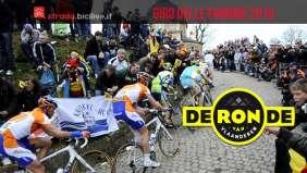 muro di pave del Giro delle Fiandre