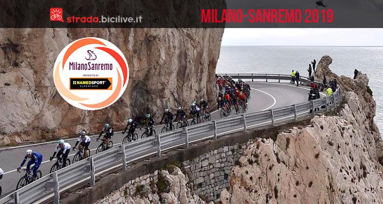 tratto del percorso della Milano-Sanremo