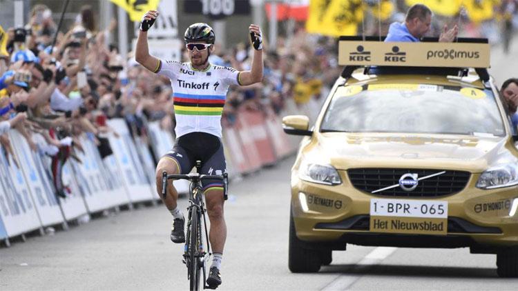 Peter Sagan vincitore alla Fiandre 2016