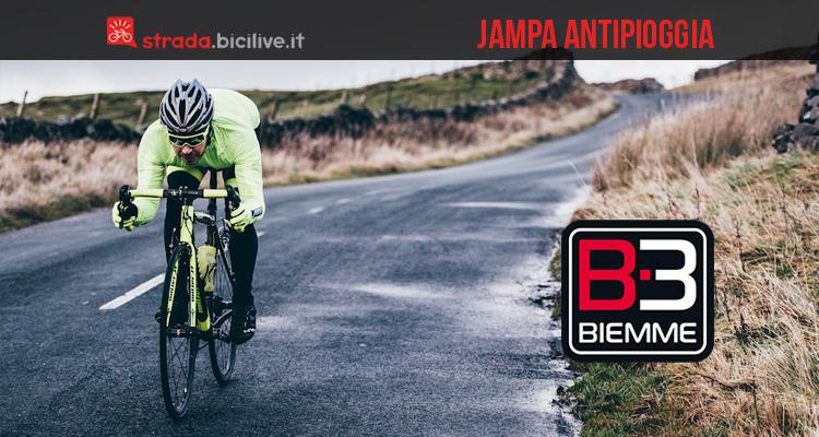 Biemme Jampa: la linea abbigliamento per ciclisti anti vento e pioggia