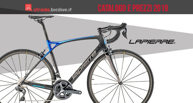 catalogo LaPierre biciclette da strada 2019