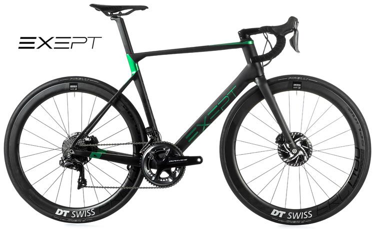 Una bici da corsa Exept Allroad Integrated gamma 2019