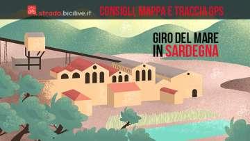 Il Giro del Mare da San Gavino Monreale in Sardegna