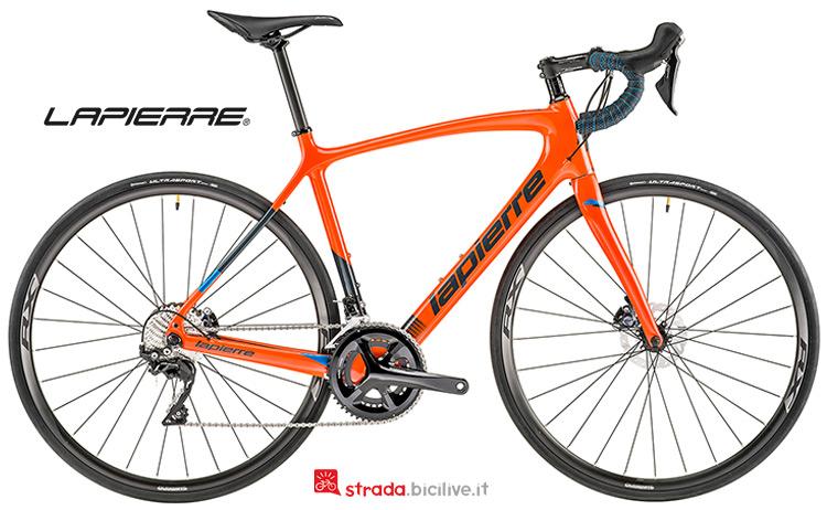 Bicicletta Lapierre Sensium 500 Disc CP gamma 2019