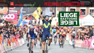 Liegi-Bastogne-Liegi 2019 il percorso di gara e i favoriti